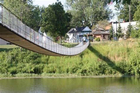 croswell swinging bridge 17 best images about pure michigan on pinterest lake