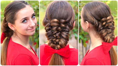 women hair styles for convertables simple braid with poof hairstyle young girl fashion ki
