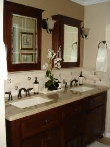 bathroom vanity backsplash ideas simple inexpensive bathroom decorating ideas 2017 2018