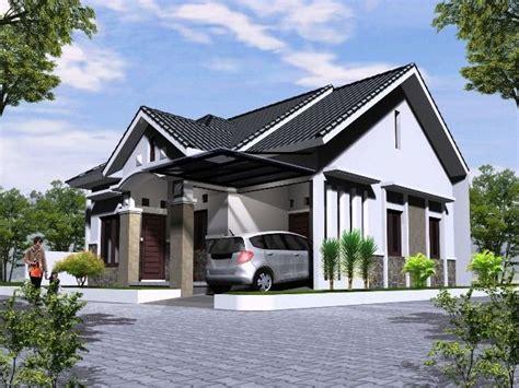 gambar desain rumah hook minimalis modern