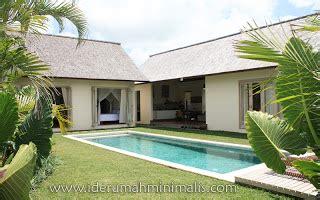 kolam renang sederhana rumah minimalis modern