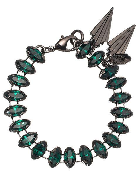 viva bracelets gillian steinhardt emerald viva trophy bracelet in green