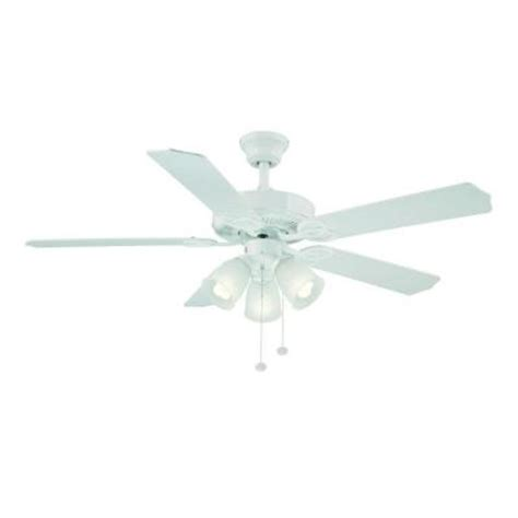 52 inch brookhurst ceiling fan hton bay brookhurst 52 in white ceiling fan yg268 wh