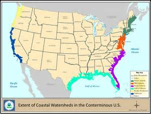 coastal map coastal wetlands wetlands protection and restoration