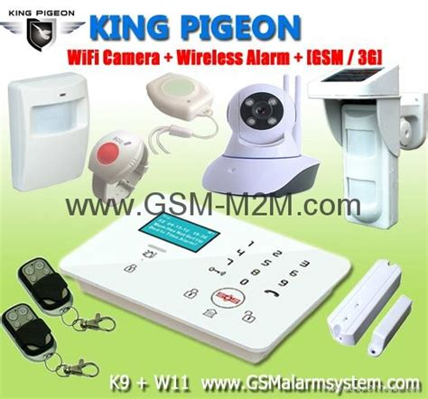 safety security king pigeon new gsm alarm system wireless home security alarm system