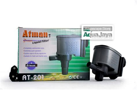 Pompa Aquarium 1000 Liter atman at 201 water filter powerhead pompa air