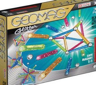 Geomag 337 Panels Glow 104 Pcs Made In Switzerland T0210 geomags