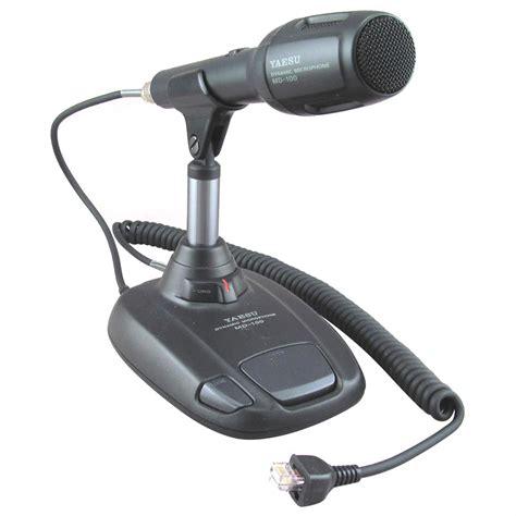 Yaesu Desk Mic by Yaesu Md 100a8x Dynamic Desk Microphones Md 100a8x Free Shipping On Most Orders 99 At Dx