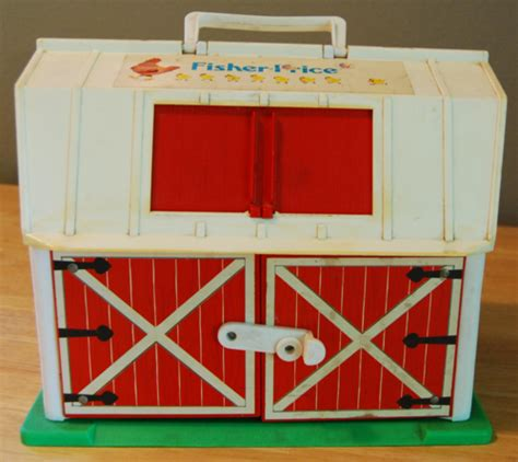 Fisher Price Barnyard Lost Found Vintage Toys Fisher Price Barn Door