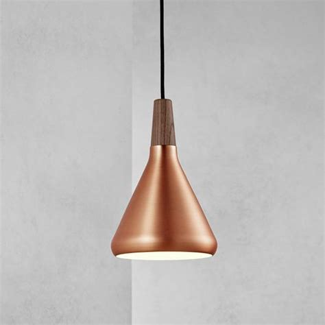 Copper Pendant Ceiling Light Nordlux Float 18 Ceiling Pendant Light Brushed Copper