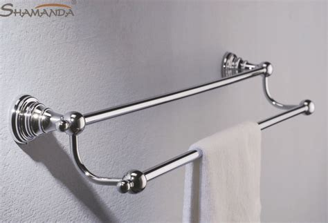 chrome bathroom towel bars free shipping fashion modern bathroom accessories products