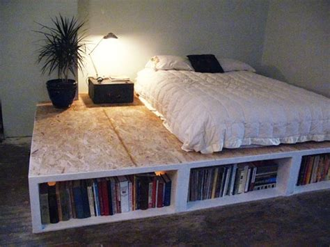 Look Diy Platform Bed With Storage Apartment Therapy Diy Platform Bed