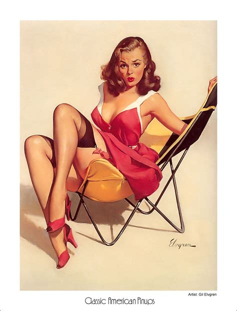 pin up richard custom house pin up by gil elvgren