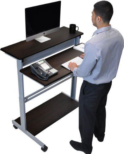 standing computer desk amazon best ergonomic standing desks ergonomics fix