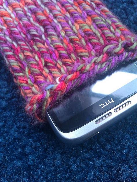 how to knit a cell phone ravelry beginner s pattern mobile phone pattern by