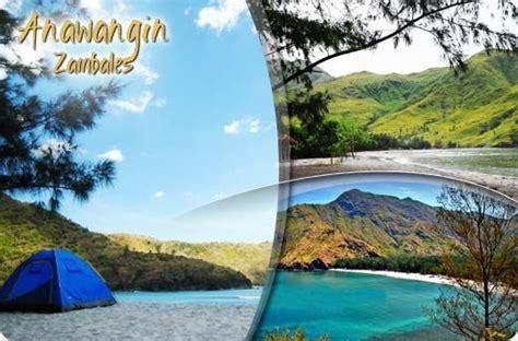 anawangin island zambales philippines camping