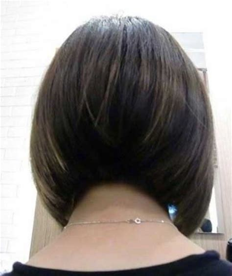 back view of graduated bob graduated bob back view hairstyles with regard to present