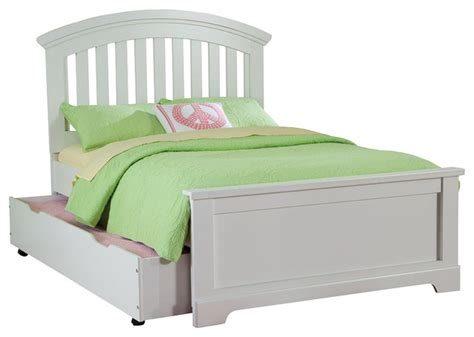 Trundle Bed Without Headboard by Standard Furniture Panel Slat Bed In White