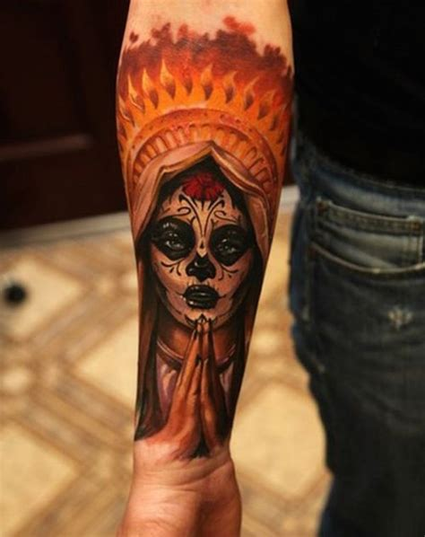138 cool sugar skull tattoos