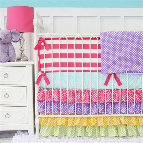 Rainbow Crib Bedding Homeofficedecoration Rainbow Crib Bedding