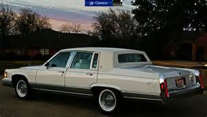90 Cadillac Brougham Sell Used 1990 Cadillac Brougham 5 7 Worlds Finest