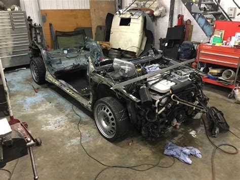 vw k70 wrapped around a w8 powered passat engine depot