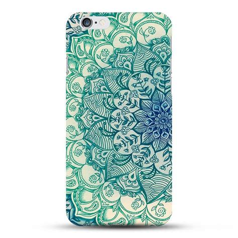 design henna phone case blue henna flower iphone case eleven gift