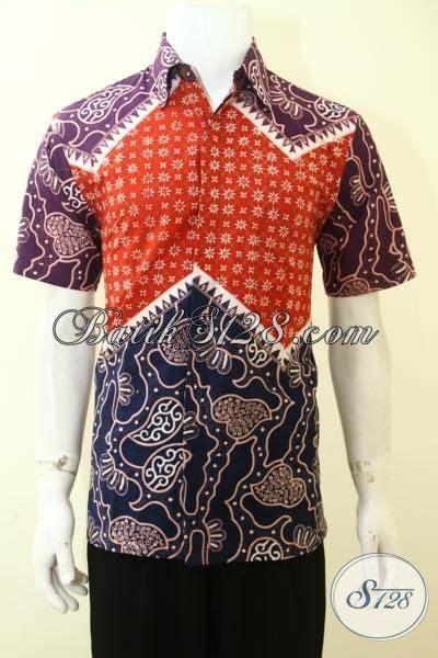 Jaket Ny Kombinasi Tiga Warna jual pakaian batik lelaki til tan busana