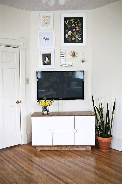 make your own media cabinet a beautiful mess