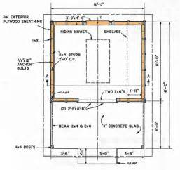 Build Blueprints by Shed Blueprints 12 215 16 How To Build A Shed