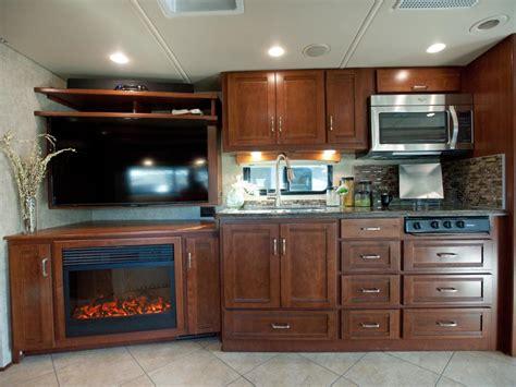 cer trailer kitchen ideas take the 2014 rv tour hgtv