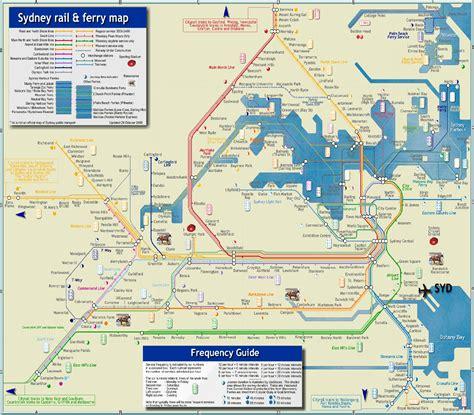 sydney australia on map sydney in australia map