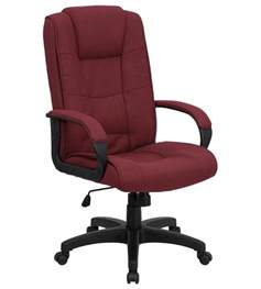 fabric office chairs comfortable high back executive fabric office chair