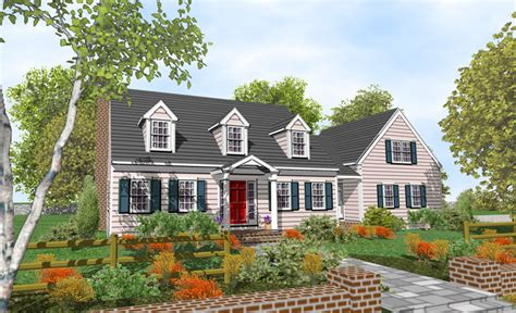 cape cod style homes plans cape style home plans 171 floor plans