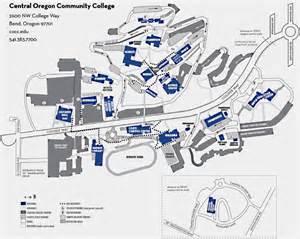 bend cus map central oregon community college bend
