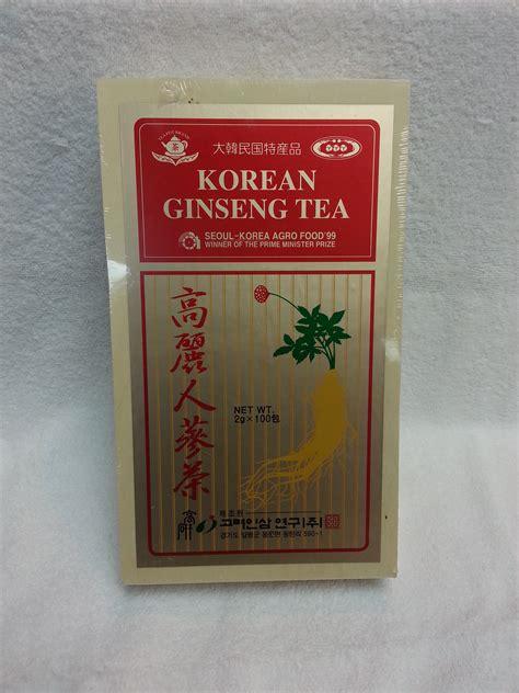 Korean Ginseng Tea tea pot brand korean ginseng tea