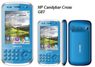 Hp Samsung Candybar Terbaru hp cross g8t harga dan speknya info terbaru
