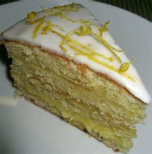 zitronen quark kuchen kitchen delights iced lemon curd layer cake