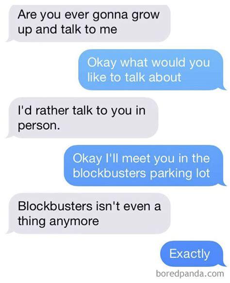 brutal  text responses demilked