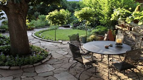 simple patio design ideas for decorating a patio colored concrete patio