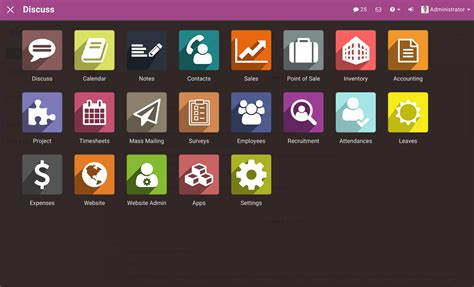themes and apps material backend theme v9 odoo apps