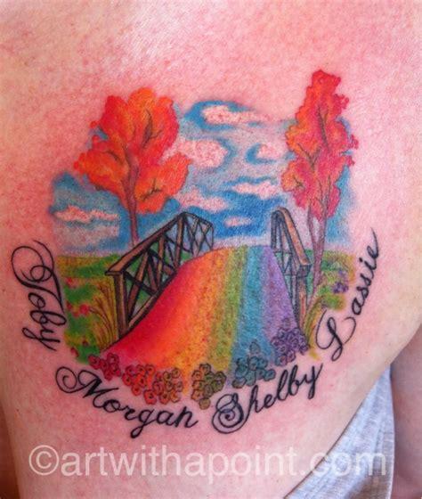 art with a point 187 rainbow bridge custom tattoo studio