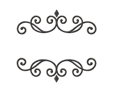 design font elegant elegant monogram font frame machine embroidery design