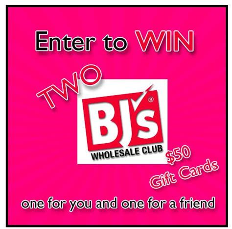 Bj S Wholesale Gift Card - bj s wholesale club gift card giveaway
