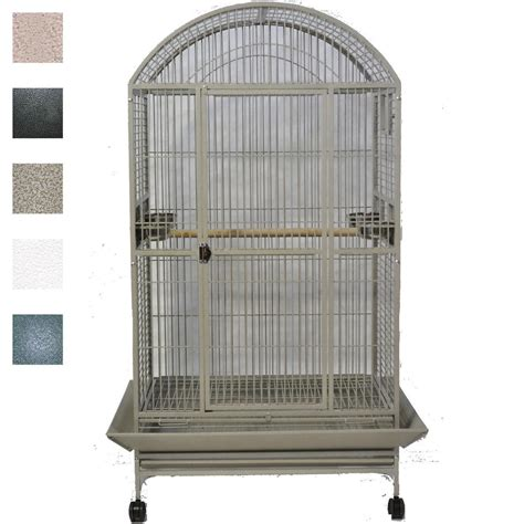 a e cage company macaw mansion dometop bird cage in green