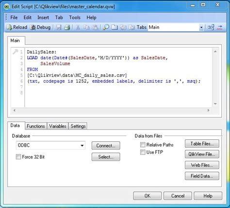 qlikview calendar tutorial qlikview master calendar