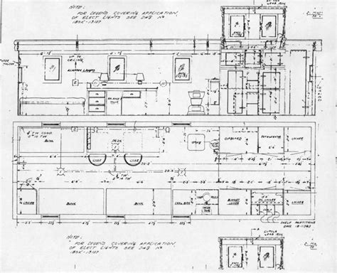 train floor plan vans cabooses and crummies