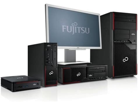 fujitsu esprimo  p  desktop pcs announced