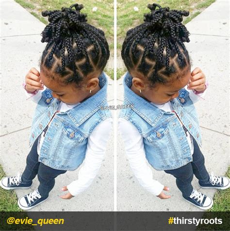 little girl hairstyles braided to the side 20 cute natural hairstyles for little girls