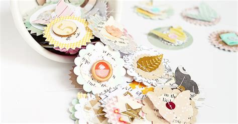 Handmade Embellishments - makes handmade embellishments